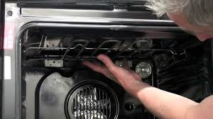 how to replace the grill element in your oven youtube