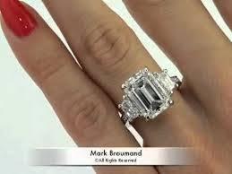 3 carat engagement ring emerald cut engagement rings emerald cut engagement rings 3