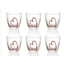 set bicchieri 6 bicchieri acqua guzzini