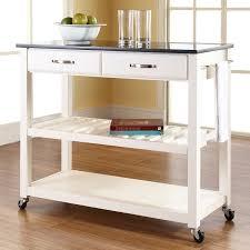 granite top kitchen islands brayden studio saterfiel kitchen island with granite top reviews