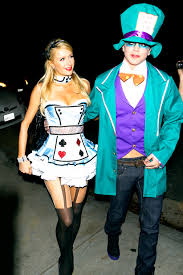 spirit halloween carle place ny paris hilton and her model boyfriend dressed up in alice in
