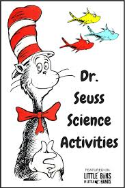seuss science activities and stem projects for read across america