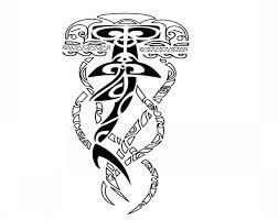unique polynesian patterned jellyfish tattoo design tattooimages biz