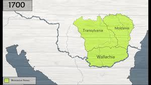 Map Of Romania History Of Romania 1290 1878 Youtube