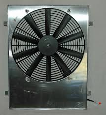 electric radiator fans and shrouds custom fitting your fan shroud photos and story by jim clark the