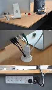 Desk Cord Organizer Simple Cord Management Solutions That Can Make Life Easier