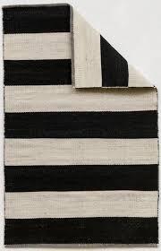 Flip Flop Rugs Black U0026 White Stripe Flip Flop Carpet Madeline Weinrib