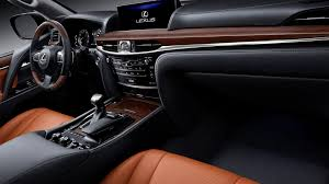 lexus lc interior 2018 lexus lx 570 review interior and specs automobile2018