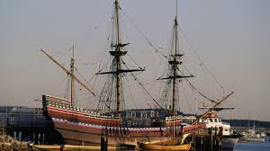 what was the first thanksgiving really like mayflower docks at plymouth harbor dec 18 1620 history com