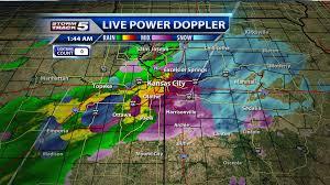 Doppler Radar Map Suchan Says Rain Freezing Rain Sleet Snow And The Kitchen Sink