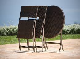 amazon com rst brands bistro patio furniture 3 piece outdoor