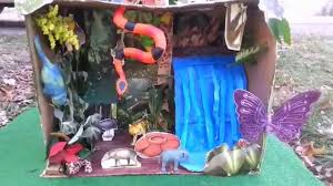 rainforest diorama by seth youtube