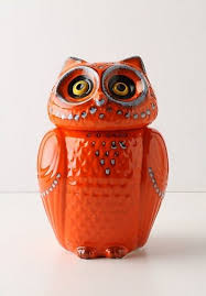 owl kitchen canisters tangerine incorporating 2012 color of the year into your