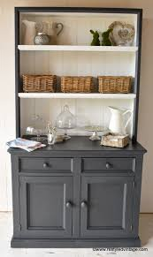 restyled vintage hamptons style buffet and hutch awesome