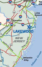 map of lakewood new jersey lakewood nj lakewood transportation new jersey city