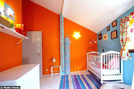 chambre bebe orange deco chambre orange daccoration chambre fille orange les