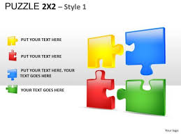 connect puzzles powerpoint slides and ppt diagrams ppt templates
