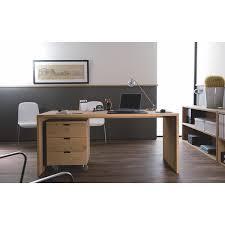 bureau en u vente table u chêne massif bureau ethnicraft mise en scène