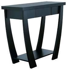 black lacquer console table small black console table black high gloss console table with