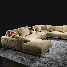 3d sofa boconcept carlton cgtrader
