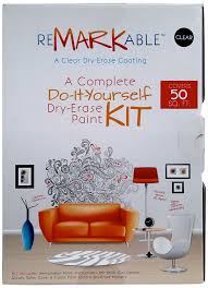 amazon com remarkable clear whiteboard paint 50 square foot kit