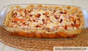 candied yams with marshmallows thyme student recipes for