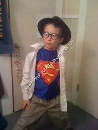 Cool Boys Halloween Costumes Coolest Homemade Clark Kent Costume Clark Kent Costume Clark