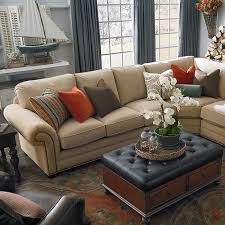 Bassett Sectional Sofa Large Custom Sectional By Bassett Furniture Bassett Sectional Sofas