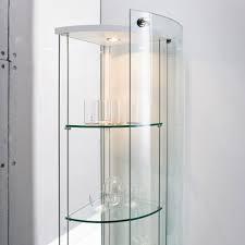Tall Corner Display Cabinet Decoration Glass Curio Display Cabinet Display Cabinet With