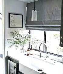 window treatment ideas for kitchen modern window treatment ideas fantastic kitchen modern window