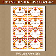 thanksgiving food tents with multi colored chevron digital