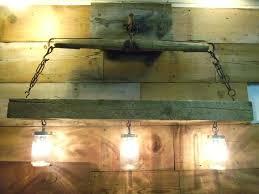 rustic beam light fixture wooden beam light fixture light rustic beam with lights wood beam