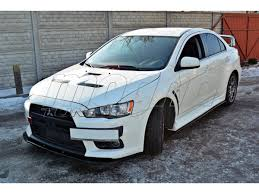 evo 10 mitsubishi lancer evo 10 mx body kit