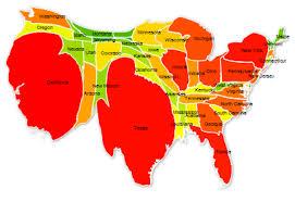 united states population map united states population map map