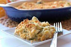 cheesy broccoli cauliflower casserole food folks and