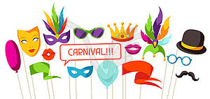 Photo Booth Accessories Photo Booth Props Accessories For Festiva Vector Clip Art