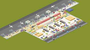 Airport Floor Plan by Terminal Plans