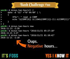 Challenge Comp Bash Challenge 10 Can You Solve This Bash Script Puzzle