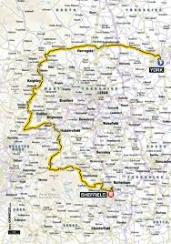 Tour De France Route Map by The Tour De France 2014 In U2026 Elland Full Route U2013 Cyclingeurope Org