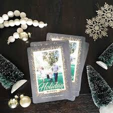 custom lights decoration funny photo personalized christmas cards