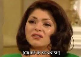 Crying Girl Meme - reasons to use the crying in spanish meme popsugar latina