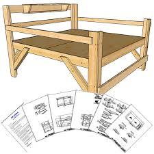 loft bed frame king size frame decorations