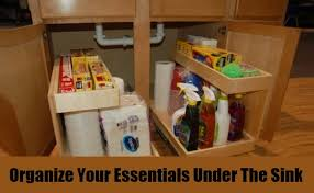 Under Kitchen Sink Pull Out Storage by 25 Genius Storage Hacks For The Kitchen Diy Home Life