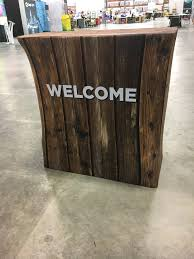 the point church pensacola fl needs a rustic wood counter they