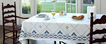 Coffee Table Linens by Huddleson Linens