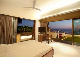 Beach Patio Bedroom Patio Doors Terrace Apartment By The Beach In Mumbai