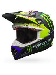 motocross helmets with visor bell hi viz monster energy 2017 moto 9 flex pro circuit replica mx