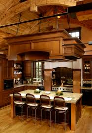 kitchen art and crafts kitchen design in rustic colonial home