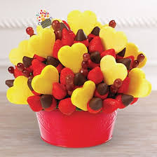 eatable arrangement edible fruit arrangements for valentines day startupcorner co