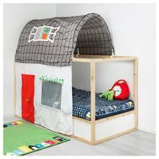 Playhouse Curtains Kura Bed Tent With Curtain Ikea